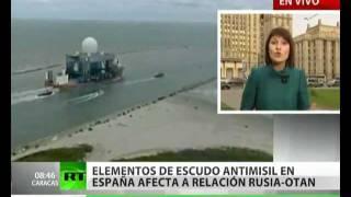 Rusia: escudo antimisiles en España es