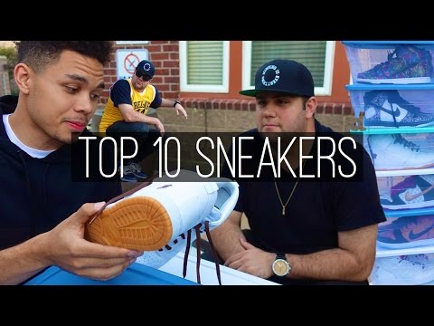 Top 10 in  Alex Budish's Sneaker Collection