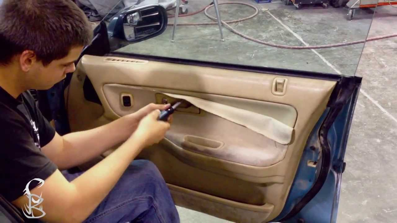 Diy How To Remove Door Trim Panel Acura Integra Youtube