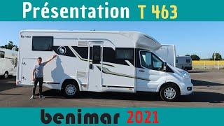 Le DERNIER ! Présentation Camping-car 5 places PROFILE BENIMAR T463 *Instant Camping-Car*