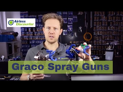 Graco Spray Guns Overview - Airless Paint Spraying For Beginners