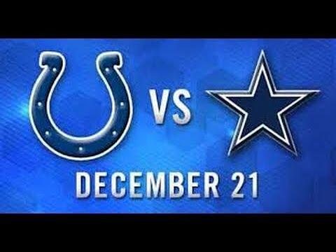 Cowboys humiliate Colts - Full Game - 4th Quarter - 12/21/2014