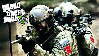 ÖZEL KUVVETLER GELDİ YAT YERE YAT! - GTA 5 SÖZ DİZİSİ MODU