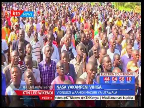 KTN Leo Wikendi taarifa kamili sehemu ya kwanza: Jubilee warai Meru - 24/06/2017