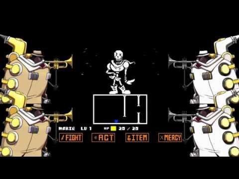 【Skullgirls】BigBand plays Undertale medley 【Undertale】