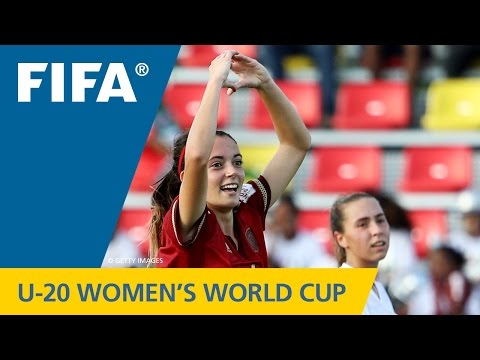 MATCH 3: SPAIN v CANADA - FIFA Women's U20 Papua New Guinea 2016