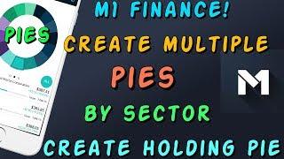 Sektörde Birden Fazla Turta Oluşturun Ve Elinde Bir Pasta Oluşturma M1 Finans -
