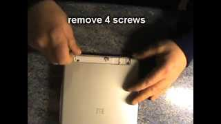 tablet ZTE e9q+  how to open disassembly thumbnail
