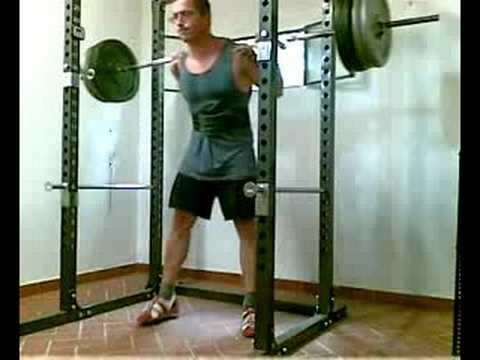 allacciarsi dentro vasta selezione di nuovo elenco 13/09/08 - Squat 10x2x170Kg cintura rec 3' - set 10 - YouTube
