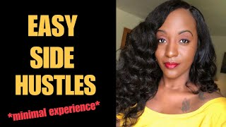 Easy NON PHONE Work From Home Side Hustles Available Now! US & International