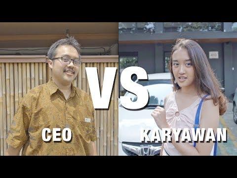 MAKAN SIANG CEO VS KARYAWAN DI JAKARTA