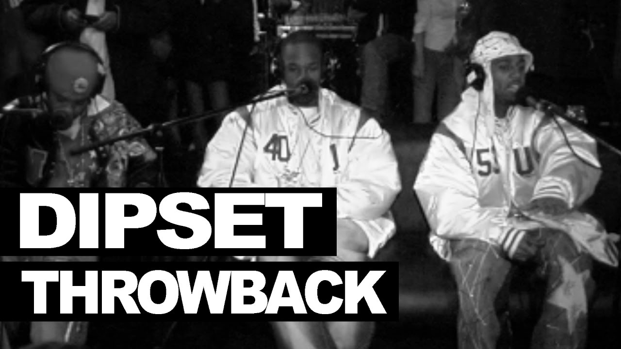 Dipset freestyle live in Harlem 2003 - FULL version