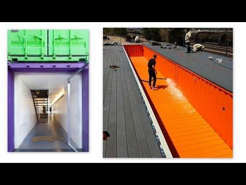 屳 Habitat container maison piscine _ +33 (0)6 30 66 78 63 #Maison