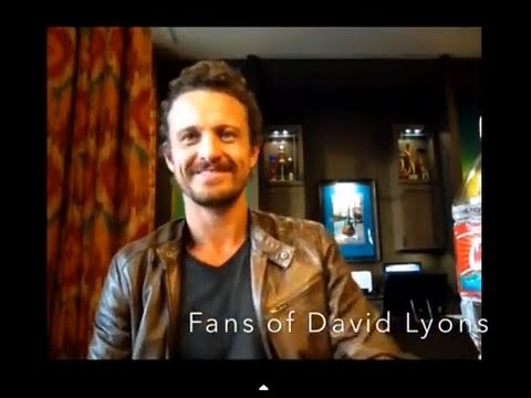 Fans of David Lyons Interview with DAVID LYONS!!