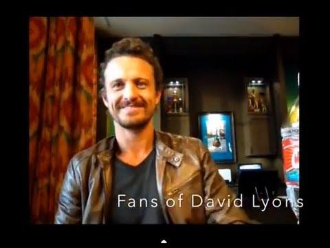 of David Lyons  with DAVID LYONS!!