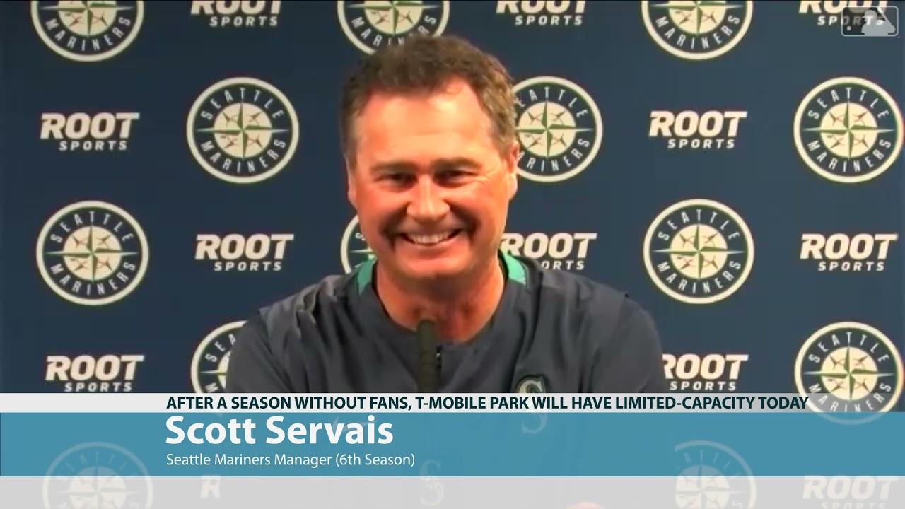 Scott Servais on Fans Returning 2021-04-01