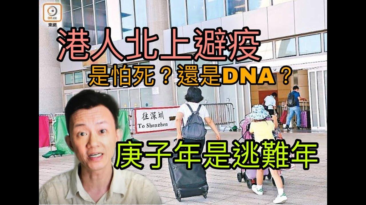 港人北上避疫:是怕死,還是DNA? 庚子年是逃難年!年頭走難到今日 - YouTube