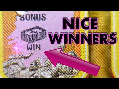 NICE SYMBOL WIN AND MORE!$...ANOTHER LOTTERY TICKET PROFIT SESSION!!