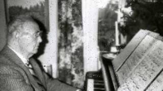 Yngve Sköld Sonatina Op. 57 for flute and piano - Tempo di gavotta grazioso & Allegro
