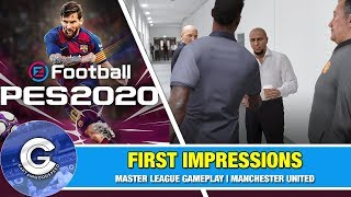 MASTER LEAGUE 2020 IS AMAZING! | PES 2020 (PS4/XBOX ONE) | First Look & Review of PES 2020