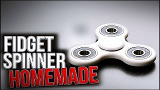How To Make a FIDGET SPINNER in 2min (Simple&Easy)