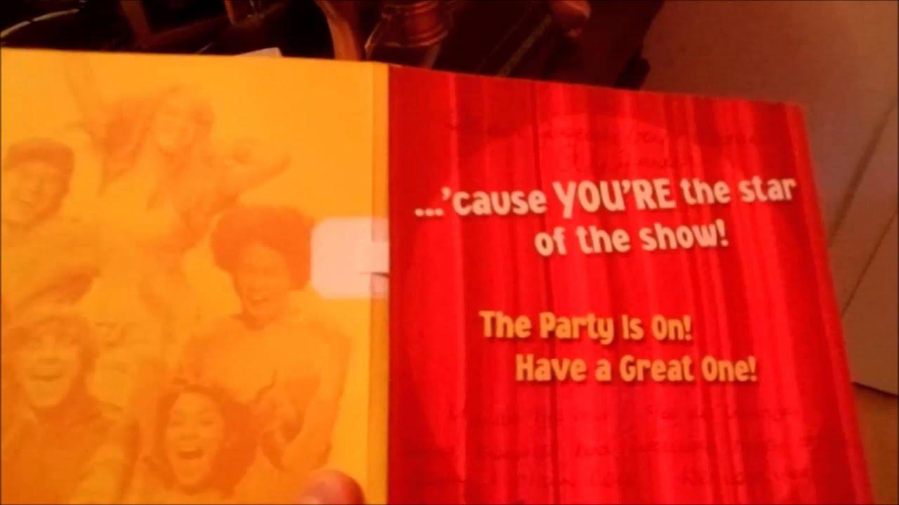 High School Musical Demonic Birthday Card YouTube