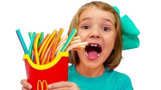 Max & Katya and Magic MacDonalds Happy Meal