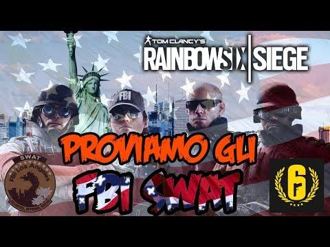 Proviamo gli FBI Swat (USA) !!! - Nazioni di Rainbow Six Siege