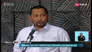 Gudang Penuh Diminta Jadi Urusan Bulog, Buwas: Matamu Itu! - iNews Siang 20/09