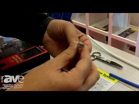 ISE 2017: Platinum Tools Demos ezEx-RJ45 Connector Termination System