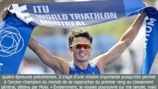 [BreaKingNews]Javier gomez noya remporte le volet masculin du triathlon de montréal