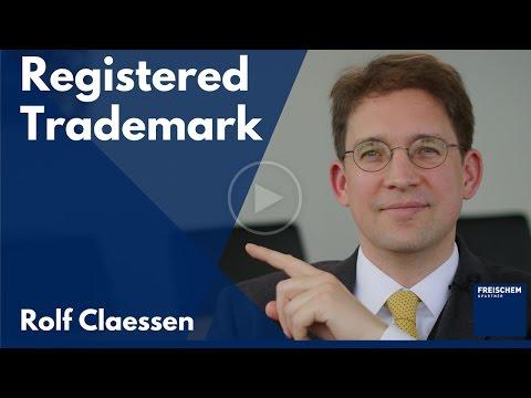 Trademark Registration - How To Get A Registered Trademark - #rolfclaessen