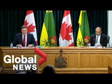 Coronavirus outbreak: Saskatchewan now prohibiting public gatherings greater than 10 people | FULL