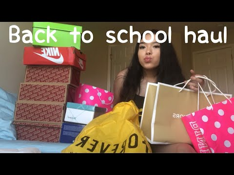 BACK TO SCHOOL TRY ON CLOTHING HAUL🛍 (pt.1)