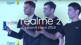 Watch Realme 2 Launch Event 2018
