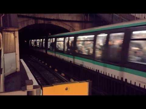 Métro de Paris Ligne 1,4,11