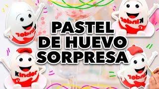 PASTEL DE HUEVO SORPRESA. EXPECTATIVA/REALIDAD
