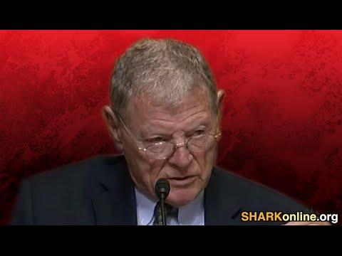Join SHARK in Protesting US Senator Jim Inhofe