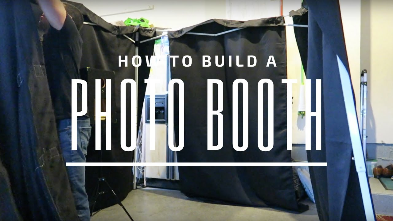 Make Your Own Photo Booth You