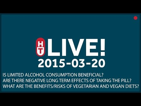 Mar. 20th, 2015 - LIVE - Is limited alcohol consumption beneficial?