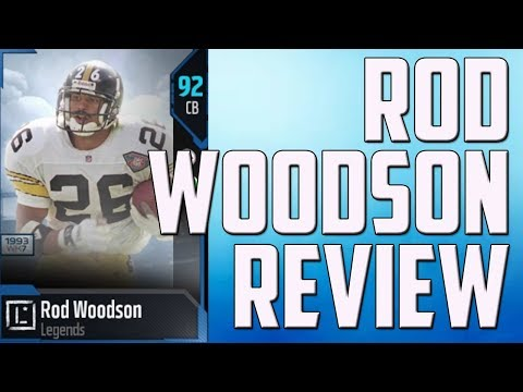 HOW GOOD IS 91 OVERALL ROD WOODSON? MUT 18 CARD REVIEW
