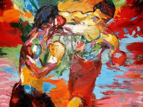 Rocky Balboa Vs Apollo Creed Painting
