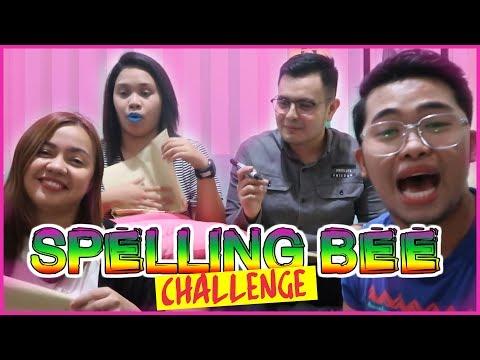 Spelling Bee Challenge Ft. Kara Karinyosa, Almira Sheil & North Tonolete   CANDIYEY