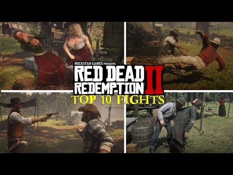 Top 10 Best Campfights in Red Dead Redemption 2 thumbnail