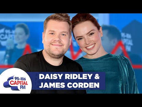 James Corden and Daisy Ridley take the