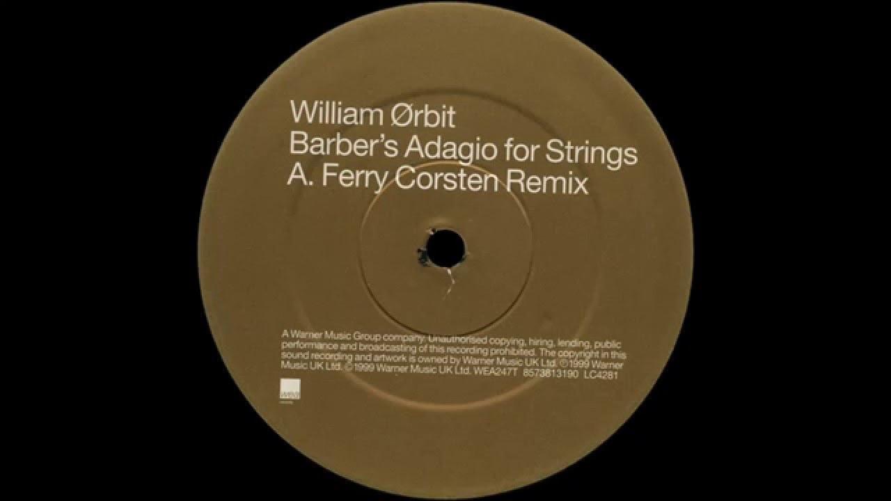 William Orbit - Adagio For Strings