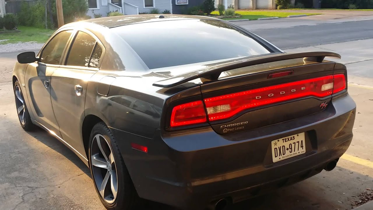 2014 100th Anniversary Dodge Charger R/t Exhaust - YouTube