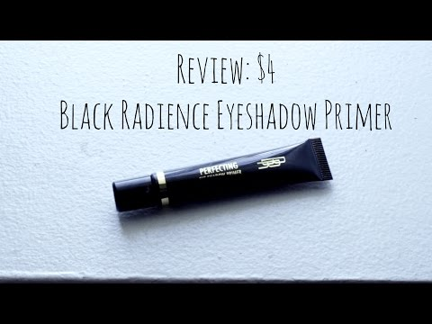 Review: Black Radiance Eyeshadow Primer