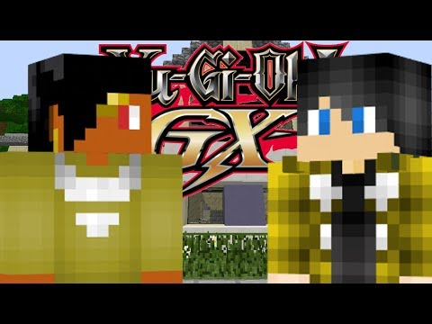 Yu-Gi-Oh! GX | Episode 1: Welcome To Duel Academy! (Minecraft Yu-Gi-Oh! Roleplay)