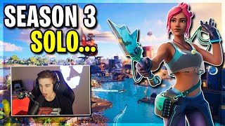 My First SOLO In Fortnite Season 3.. What's New??